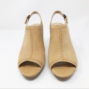 New Geox Respira Sand Colored Heels